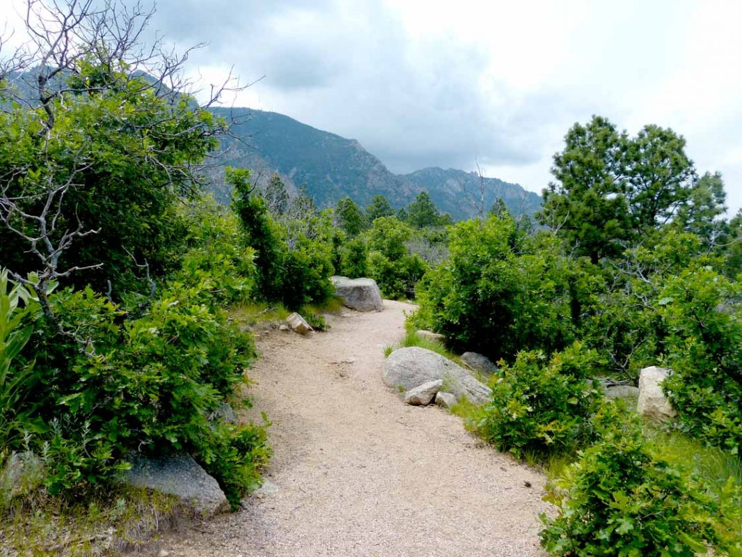Cheyenne Mountain State Park hiking in Colorado Springs