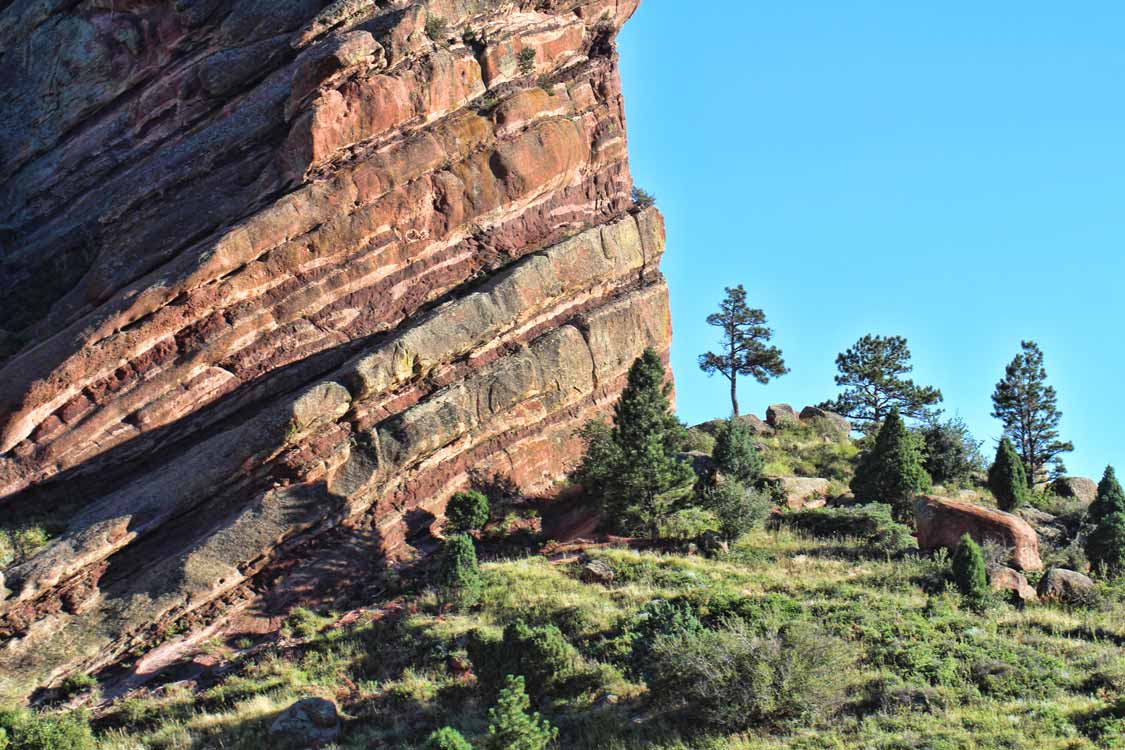 Colorado Springs hikes in Red Rocks Canyon