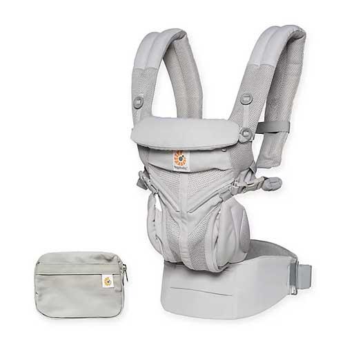 ErgoBaby Omni 360 Frameless Baby Carrier for hikes
