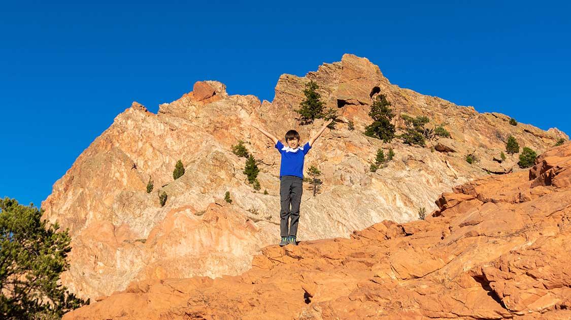 Family-friendly Colorado Springs hikes